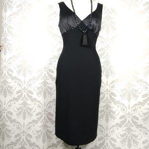 90's Moschino minimal chic evening dress Italy 8